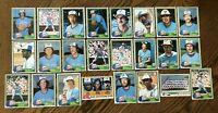 1981 TORONTO BLUE JAYS Topps COMPLETE Baseball Team Set 24 Cards STIEB MOSEBY RC