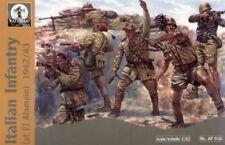 Waterloo 1/32 WWII Italian Infantry El Alamein # AP016