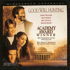 Good Will Hunting Laserdisc Ld [13559 As]