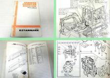 Ersatzteilkatalog Yanmar Crawler Backhoe B37 Parts Catalog Ammann