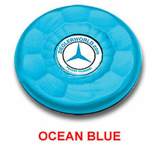 4 MEDIUM SIZE REPLACEMENT AMERICAN TABLE SHUFFLEBOARD PUCK CAP TOPS - OCEAN BLUE