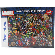 """Clementoni Marvel Comic Character """"Impossible"""" 1000 Piece Jigsaw Puzzle NEW"""