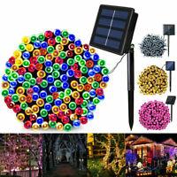 Solar Fairy String Lights 200 LED 22M Garden Outdoor Christmas Party Decor Light