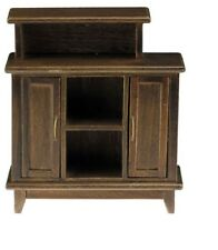 Dollhouse Miniatures 1:12 Scale Bar Stand, Walnut #CLA10921