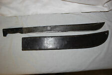 WW2 Legitimus Collins Co Machete and Leather Sheath Scabbard BOYT 42
