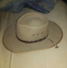 Australian Outback Collection Leather Fur Felt Hat 6 3/4