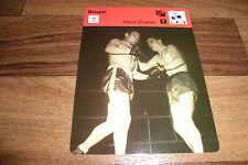 JEAN STOCK vs ROBERT CHARRON / Boxen -- Editions Rencontre S.A. Lausanne 1977