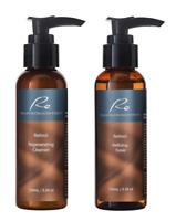 Re Retinol _ Regenerating Cleanser & Refining Toner _ Daily Base Skincare Set