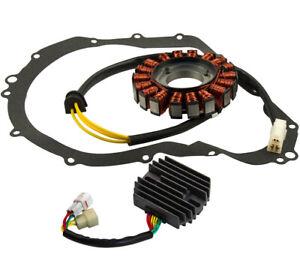 ⭐⭐⭐⭐⭐ Statore+ Regolatore Tensione Statore per Suzuki GSXR600 GSXR750 K6  K7 K8