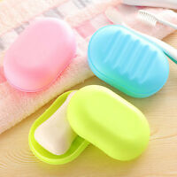 Soap Dish Box Case Holder Container Home Bathroom Shower Travel Camping 3 Colors