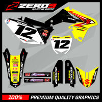 Custom MX Graphics Kit: SUZUKI RM RMZ 125 - 450 - OEM FACTORY