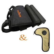 Tourbon Butt Stock Cheek Piece Rest Pad Ammo Pouch & Bolt Holder Bag Rifle Shoot