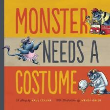 Monster Needs a Costume (Monster & Me)