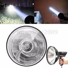 6800LM 12V 100W 9'' Xenon Handheld Lamp Spotlight Fishing Hunting Work Light
