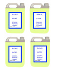 4 X 5L PROFESSIONAL THICK BLEACH GENERAL HOUSEHOLD INDUSTRIAL 1X GENERAL PURPOSE