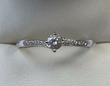 18ct Gold The Diamond Story Ring Size R