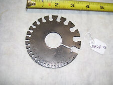 Wire Gage,Vintage American Wire Gage / Gauge, (Thickness Gage) St. Paul, USA