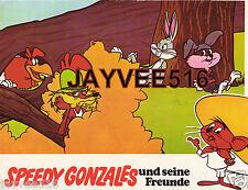 Bugs Bunny Speedy Gonzales Warner Bros. Cartoon Animation Photo Vintage Original