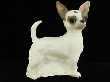 CHERYL VICARIO LAEMMLE CERAMIC CHIHUAHUA SCULPTURE HAND PAINTED 1996 LISTED ARTI