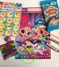 Shimmer and shine,party bags pre filled, toys and sweets , boys, girls,