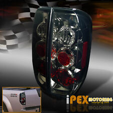 NEW For All 2005-2014 Nissan Frontier Smoke Tail Lights Brake Lamp Free Shipping