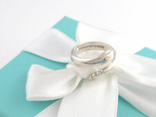 Auth Tiffany & Co Silver Peretti Snake Ring Size 8 Box Included