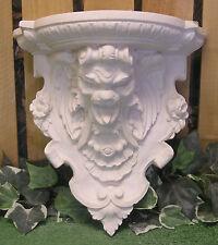 Gargoyle Head Shelf Sconce Frieze Latex Fiberglass Production Mold Concrete