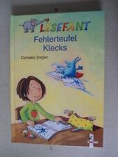 XXXX Lesefant , Fehlerteufel Klecks , Loewe