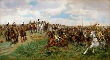 Friedland 1807 by Ernest Meissonier (French) Old Masters 9x16 Art Print