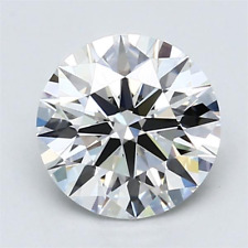 2.00 ct I Color VS2 Clarity Round 100% Natural Loose Diamond 3EX Cut GIA FL None