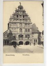 AK Braunschweig, Gewandhaus, 1905
