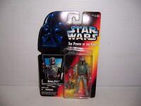 1995 Kenner Star Wars The Power of the Force TPOTF Boba Fett Figure