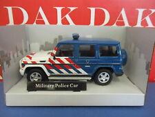 Die cast 1/43 Modellino Auto Polizia Militare Police Mercedes Classe-G Olanda