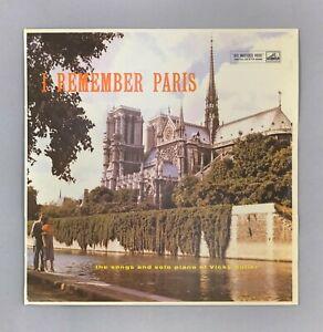 """Vicky Autier - I Remember Paris - NEAR MINT - UK 12"""" Vinyl LP - CLP 1150"""