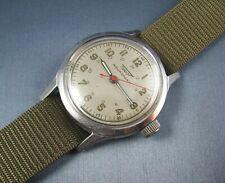 Vintage Tissot Aqausport 24 Hour Dial WW2 Era Military Mens Watch  17J 1943