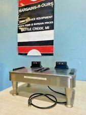 Bunn 2sh Stand Hend Pewter Legs Warmer For Satellite Coffee Server Dispenser