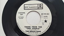 BRASS RING feat. PHIL BODNER - For Love Of Ivy / Theme From Odd Couple '68 PROMO