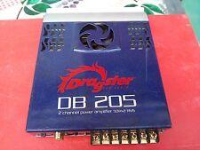 Amplificatore auto Dragster db 205 50Watt Rms X2 Con ventola raffreddamento