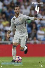 Sergio Ramos LEADERSHIP Real Madrid Soccer Official La Liga Action POSTER