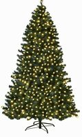 Sale!! Was £99.99, 7ft Pre-lit Christmas Tree,400 Multifunctional LED Lights