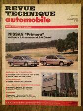 Revue Technique Automobile NISSAN Primera moteurs 1.6 Essence et 2.0 Diesel