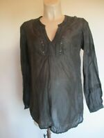 MAMALICIOUS BLACK SEQUIN DETAIL BLOUSE TUNIC TOP SIZE 8 10 12 14 16 BNWT £45