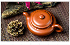Authentic China Handmade Yixing ZiSha Pottery Teapot200cc fanggu  zhuni