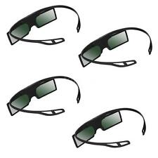 4x G15-DLP 3D Active Shutter Glasses 96-144Hz for LG BENQ ACER 3D Projector K0E3