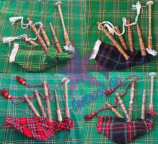 Bambino cornamusa Royal Stewart BIANCO CORD Bambini giocattolo cornamusa JUNIOR riproducibili cornamusa