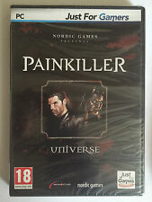 PAINKILLER Universe JEU PC NEUF BLISTER Inclus BATTLE OUT OF HELL + OVERDOSE