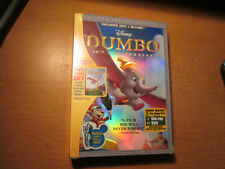 Dumbo (Blu-ray/DVD,Digibook,2011,2-Disc Set,) OOP Target Exclusive. Disney Rare