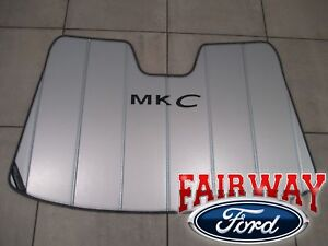 15 thru 19 Lincoln MKC OEM Ford Sun Shade Screen with MKC Logo and Storage Bag