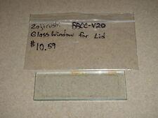 Zojirushi Bread Machine Glass Window For Lid For Model BBCC-V20