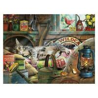 1000pieces Napping Cat Children Adult Kids Stress-relief Puzzles Gift New S7P2
